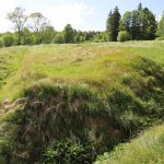 Odvodňovací kanály na území bývalé obce Skelná
