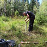 Na 15 projektových lokalitách jsme instalovali měřící přístroje pro sledování hladiny podzemní vody.