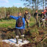 Discussion over restoration measures in Estonia, photo by Jan Zelenka