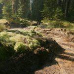 Dno potoka je tvořeno dle zásad přirozené dynamiky vodních toků.