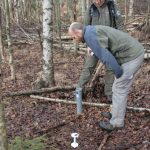We are monitoring the groundwater table before and after restoration as well as soil moisture