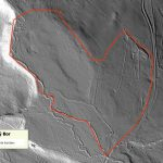 The LIDAR technology helps us to identify man-made drainage ditches