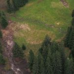 Slučí Tah project site - the same situation from bird perspective